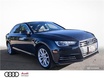 2017 Audi A4 2.0T Progressiv (Stk: 20533) in Windsor - Image 1 of 30