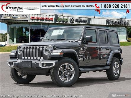 2021 Jeep Wrangler Unlimited Sahara (Stk: ) in Cornwall - Image 1 of 23