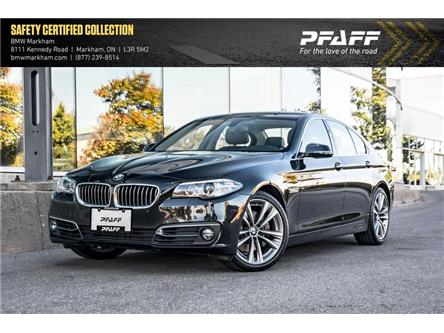 2016 BMW 535i xDrive (Stk: O13426) in Markham - Image 1 of 22