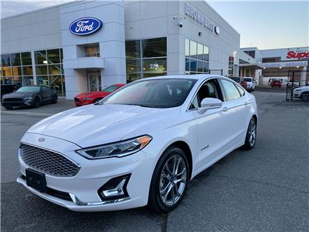 2019 Ford Fusion Hybrid Titanium (Stk: OP20322) in Vancouver - Image 1 of 26