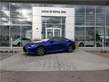 2017 Lexus RC 300 Base (Stk: LU0340) in Calgary - Image 1 of 22