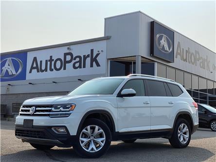 2019 Volkswagen Atlas 3.6 FSI Highline (Stk: 19-41065RJB) in Barrie - Image 1 of 29