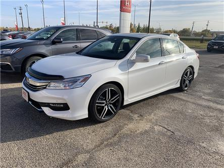 2017 Honda Accord Touring V6 (Stk: H1768) in Steinbach - Image 1 of 24