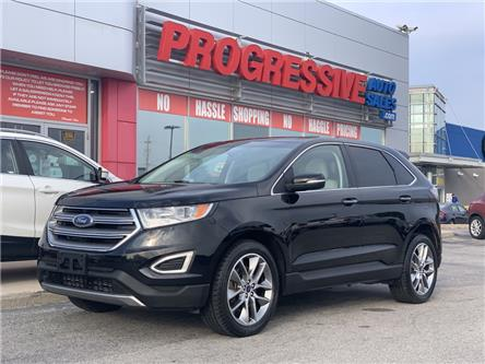 2017 Ford Edge Titanium (Stk: HBC18705) in Sarnia - Image 1 of 22