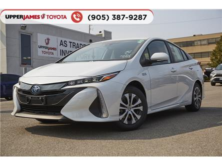 2021 Toyota Prius Prime Base (Stk: 210010) in Hamilton - Image 1 of 18
