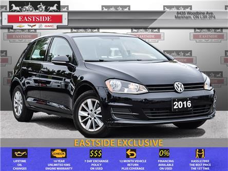 2016 Volkswagen Golf 1.8 TSI Trendline (Stk: 068943B) in Markham - Image 1 of 24