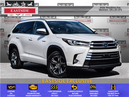 2017 Toyota Highlander Hybrid Limited (Stk: 029904B) in Markham - Image 1 of 30