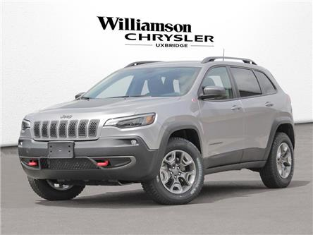 2021 Jeep Cherokee Trailhawk (Stk: 21-020) in Uxbridge - Image 1 of 23