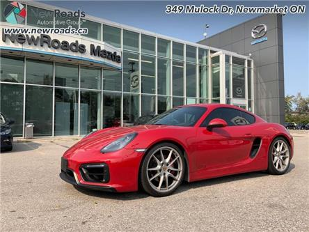 2016 Porsche Cayman 2dr Cpe GTS (Stk: 41799A) in Newmarket - Image 1 of 30