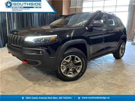2019 Jeep Cherokee Trailhawk (Stk: A14600A) in Red Deer - Image 1 of 19