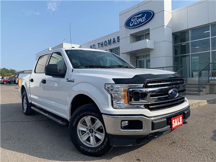 2018 Ford F-150 XLT (Stk: T0460A) in St. Thomas - Image 1 of 24