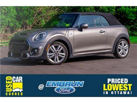 2016 MINI Convertible Cooper S (Stk: 39-3241) in Embrun - Image 1 of 23
