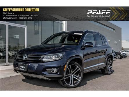 2017 Volkswagen Tiguan Highline (Stk: SU0240) in Guelph - Image 1 of 22