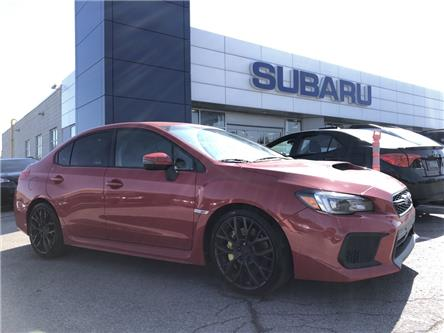 2018 Subaru WRX STI Sport-tech w/Lip (Stk: P723) in Newmarket - Image 1 of 5