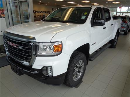 2021 GMC Canyon AT4 w/Leather (Stk: T21001) in Campbell River - Image 1 of 17