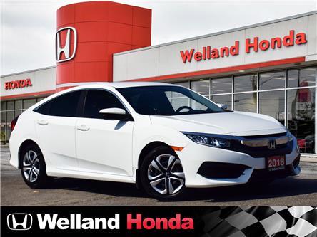 2018 Honda Civic LX (Stk: U20201) in Welland - Image 1 of 18