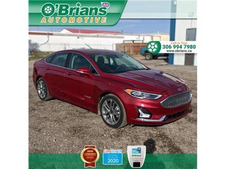 2019 Ford Fusion Hybrid Titanium (Stk: 13793A) in Saskatoon - Image 1 of 25