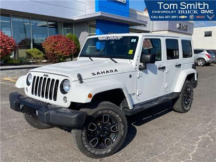 2018 Jeep Wrangler JK Unlimited Sahara (Stk: 200458A) in Midland - Image 1 of 15