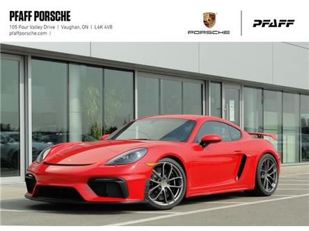 2020 Porsche 718 Cayman GT4 (Stk: P15809) in Vaughan - Image 1 of 19