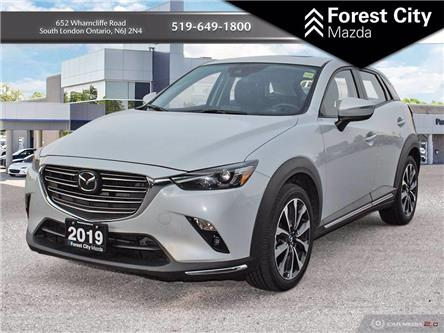 2019 Mazda CX-3 GT (Stk: ME0043) in London - Image 1 of 14