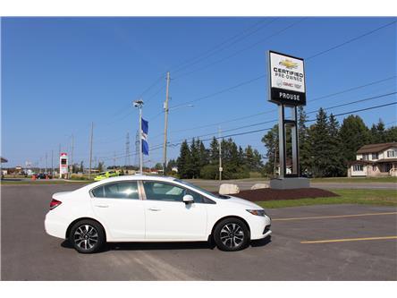 2014 Honda Civic EX (Stk: 8003-20AA) in Sault Ste. Marie - Image 1 of 5