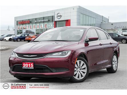 2015 Chrysler 200 LX (Stk: SSP341) in St. Catharines - Image 1 of 16