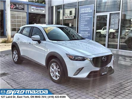 2017 Mazda CX-3 GS (Stk: 30049A) in East York - Image 1 of 30