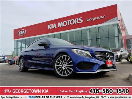 2017 Mercedes-Benz C-Class AMG C 43 4MATIC | ONLY 38K KMS | 362 HP | ROOF|NAV (Stk: P13442) in Georgetown - Image 1 of 41