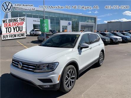 2019 Volkswagen Tiguan Comfortline (Stk: 3500) in Calgary - Image 1 of 30