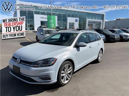 2019 Volkswagen Golf SportWagen 1.8 TSI Execline (Stk: 3512) in Calgary - Image 1 of 27