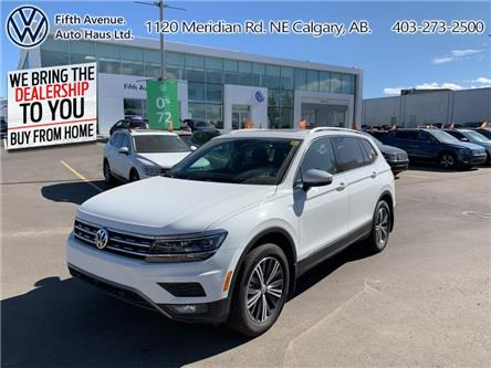 2019 Volkswagen Tiguan Highline (Stk: 3518) in Calgary - Image 1 of 30