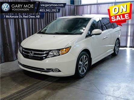 2016 Honda Odyssey Touring (Stk: 1AT6453A) in Red Deer County - Image 1 of 28