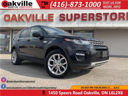 2016 Land Rover Discovery Sport HSE | AWD | 7 PASS | NAV | B U CAM | PANO | (Stk: P0161) in Oakville - Image 1 of 23