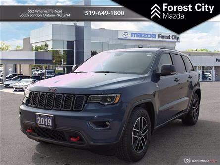 2019 Jeep Grand Cherokee Trailhawk (Stk: 9-7025D) in London - Image 1 of 20