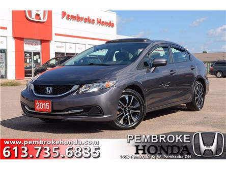 2015 Honda Civic EX (Stk: P7482A) in Pembroke - Image 1 of 30
