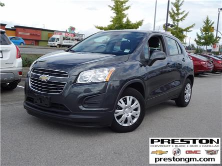 2016 Chevrolet Trax LS (Stk: 0208851) in Langley City - Image 1 of 27