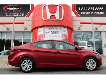 2014 Hyundai Elantra GL (Stk: 22683B) in Greater Sudbury - Image 1 of 40