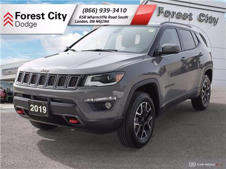 2019 Jeep Compass Trailhawk (Stk: DT0052) in London - Image 1 of 18