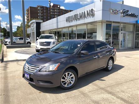 2015 Nissan Sentra 1.8 SV (Stk: TL333A) in Chatham - Image 1 of 19