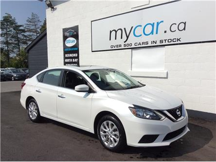 2019 Nissan Sentra 1.8 SV (Stk: 200977) in North Bay - Image 1 of 22