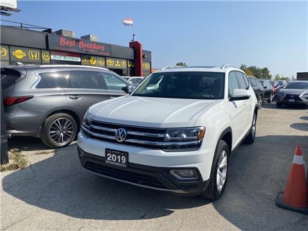 2019 Volkswagen Atlas 3.6 FSI Highline (Stk: 543296) in Toronto - Image 1 of 18