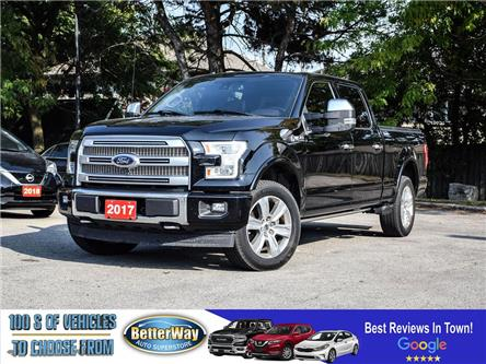 2017 Ford F-150 Platinum| 5.O V8| PANO ROOF |LEATHER| NAVIGATION (Stk: A77521) in Stoney Creek - Image 1 of 29