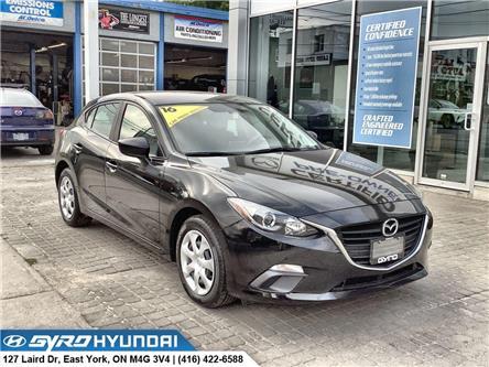 2016 Mazda Mazda3 Sport GX (Stk: H5953) in Toronto - Image 1 of 28