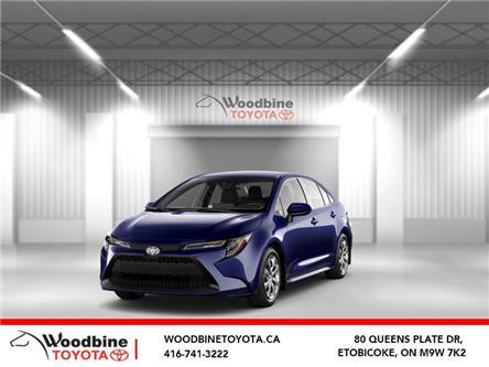 2020 Toyota Corolla LE (Stk: 20-667) in Etobicoke - Image 1 of 10