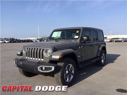 2021 Jeep Wrangler Unlimited Sahara (Stk: M00015) in Kanata - Image 1 of 24