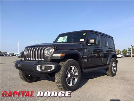 2021 Jeep Wrangler Unlimited Sahara (Stk: M00019) in Kanata - Image 1 of 30
