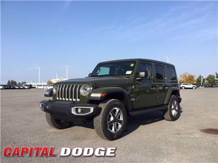 2021 Jeep Wrangler Unlimited Sahara (Stk: M00016) in Kanata - Image 1 of 22