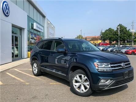 2018 Volkswagen Atlas 3.6 FSI Highline (Stk: 9895P) in Toronto - Image 1 of 5