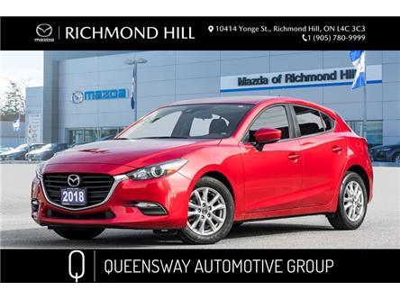 2018 Mazda Mazda3 Sport GS (Stk: P0528) in Richmond Hill - Image 1 of 19