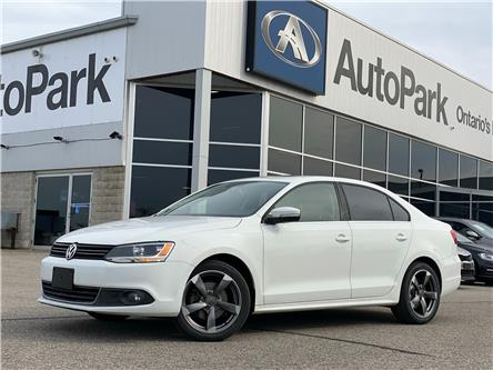 2014 Volkswagen Jetta 2.0 TDI Highline (Stk: 14-14616JB) in Barrie - Image 1 of 25